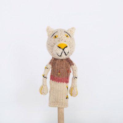 Finger Puppet: Leopard (Mbada)