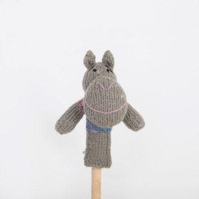 Finger Puppet: Hippo (Mvuu)