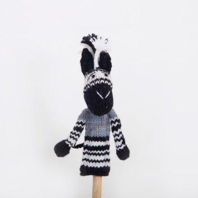 Finger Puppet: Zebra (Mbizi)