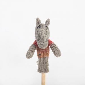 Finger Puppet: Rhino (Chipembere)