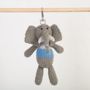Key Ring: Elephant (Nzou)