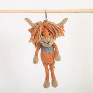 Key Ring: Highland Coo