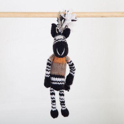 Key Ring: Zebra (Mbizi)