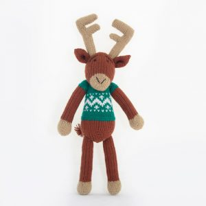 Original: Reindeer (Green)