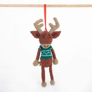 Christmas: Reindeer (Green)