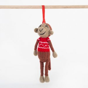 Christmas: Monkey (Shoko) – Red