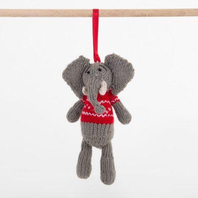 Christmas: Elephant (Nzou) – Red