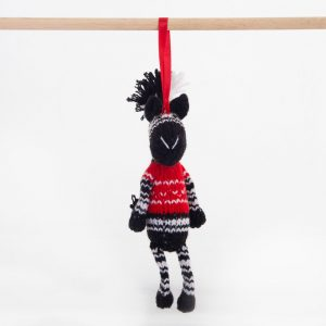 Christmas: Zebra (Mbizi) – Red