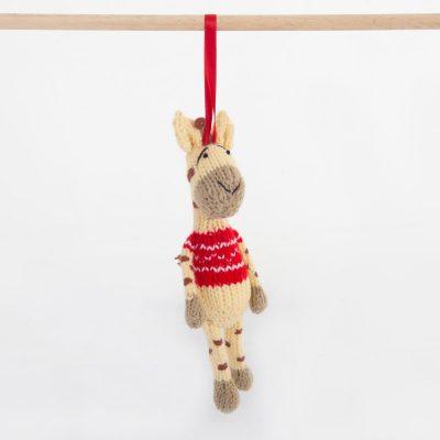 Christmas: Giraffe (Twiza) – Red