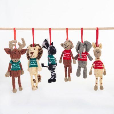 Christmas Decorations (Set of Six)