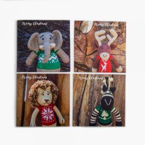 GOGO GREETING CARD – Merry Christmas (set of 4)