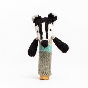 Finger Puppet: Badger