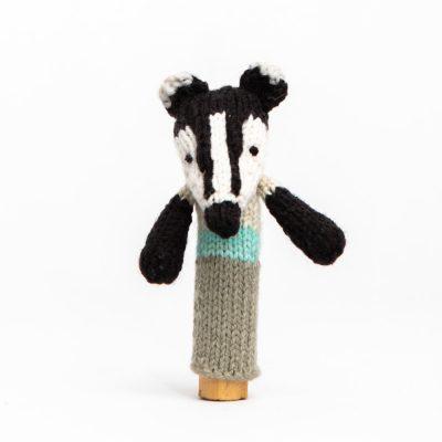 Finger Puppet: Badger