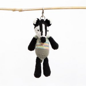 Key Ring: Badger
